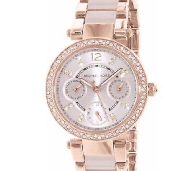 Michael Kors watch gold rose watch